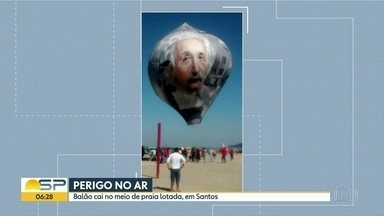 Mais de 40 pessoas foram presas em flagrante por soltar balão no estado de SP - Segundo polícia, R$ 620 mil em multas foram aplicados.