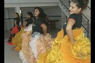 Em Marabá, grupos de dança se preparam para o concurso de quadrilha junina - O repórter Márcio Novaes traz as informações.