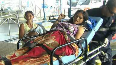 Mãe dá à luz ao primeiro filho em embarcação no rio Arapiuns, em Santarém - Parto aconteceu na manhã deste domingo (18) e foi realizado por um enfermeiro do Samu. Mãe e filho foram levados para o Pronto Socorro de Santarém.