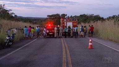 Polícia Civil investiga causas de acidente que matou seis pessoas após batida na TO-020 - Polícia Civil investiga causas de acidente que matou seis pessoas após batida na TO-020