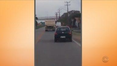 Feriadão é marcado por imprudências no trânsito em SC - Feriadão é marcado por imprudências no trânsito em SC