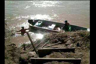 Retomadas as buscas ao corpo de Adelson Beluzi Pires de 22 anos - Ele desapareceu nas águas do Rio Turvo em Esperança do Sul, RS.