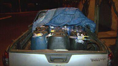 Homem é detido por suspeita de desvio de combustível em Ribeirão Preto - Ele foi encontrado abastecendo caminhão de carga de forma irregular.