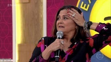 Elizangela diz que personagem de Juliana Paes na novela é imatura - Atriz interpreta a mãe de Bibi em 'A Força do Querer'