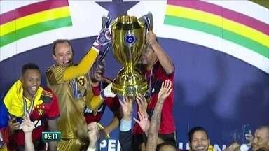 Sport vence o Salgueiro e comemora o 41º título de campeão pernambucano - Jogo foi disputado no Sertão.