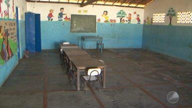 Crianças são prejudicas por conta de 9 creches fechadas em São Gonçalo dos Campos - Todas as creches da cidade estão fechadas; veja na reportagem.