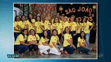 Confira a participação dos telespectadores no Bom Dia Ceará com fotos de São João - Uma escola fez uma linda festa com o tema.