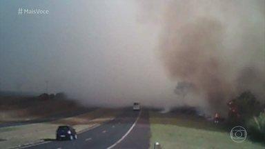 Saiba como se proteger de incêndios florestais em estradas - O período de seca faz aumentar o perigo de ser atingido por incêndios que acontecem nas matas do Brasil