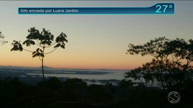 Quinta-feira com predomínio de sol no Sul do estado - Massa de ar seco continua atuando.