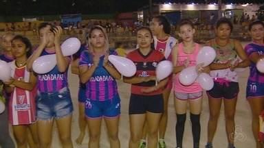 Moradores da Zona Leste de Manaus promovem ato em valorização pela vida - Ação teve esporte em forma de protesto contra a violência no bairro.