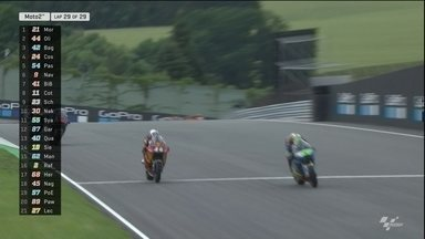 Com troca de posições na última volta, Franco Morbidell vence o GP da Alemanha de Moto 2