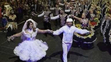 Fant360: Mari Palma coloca você no meio da quadrilha de Campina Grande - Em uma das maiores festas de São João do Brasil, você pode dançar e curtir todos os ângulos em 360° desse gigantesco arraiá nordestino.