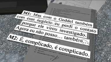 Geddel é citado nas conversas entre Temer e Joesley Batista - Joesley diz em gravação que ex-ministro era seu interlocutor no governo. Geddel Vieira Lima era um dos ministros mais próximos do presidente.