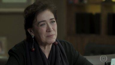 Silvana alerta Eugênio sobre Irene - A esposa de Eurico diz que Irene quer acabar com o casamento do advogado