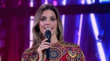 Fernanda Lima explica como são as regras e pontuação do 'PopStar' - Ela também apresentou os especialistas do programa