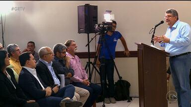 Encontro discutiu decisão da ANA de suspender abastecimento de água às quartas-feiras - A medida foi tomada por causa do baixo nível do rio. A decisão gerou muitos questionamentos.