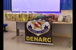 Cerca de 300kg de cocaína são apreendidos em Ponta de Pedras, no Marajó - Foi a maior apreensão de drogas dos últimos cinco anos no Pará. Cinco pessoas foram presas.