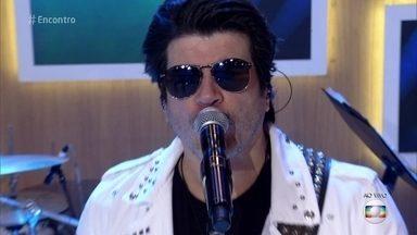 Paulo Ricardo incendeia o 'Encontro' com 'Rádio Pirata' - Cantor comemora o Dia Mundial do Rock neste 13 de julho