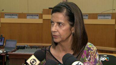 CPI do Transporte Coletivo ouve mais três pessoas na Câmara de Vereadores - A Procuradora do município, Claudia Canzin foi uma das ouvidas nesta quinta-feira.