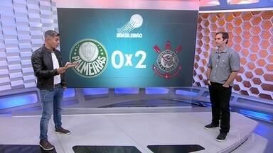 Caio Ribeiro analisa as atuações de Corinthians e Palmeiras no dérbi - Caio Ribeiro analisa as atuações de Corinthians e Palmeiras no dérbi