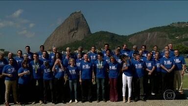 Carlos Arthur Nuzman convida atletas para foto de celebração dos 10 anos do Pan do Rio - Há 10 anos, acontecia o Pan-americano do Rio de Janeiro.