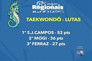 Alto Tietê conquista as primeiras medalhas nos Jogos Regionais; confira - Maioria das medalhas foram conquistadas no taekwondo.