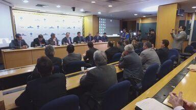 Ministro da Saúde anuncia repasse de R$ 10 milhões por mês para as cidades da região - Representantes da região foram a Brasília.