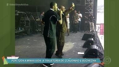 Relembre a trajetória de Claudinho e Buchecha - Telespectadores enviam mensagens com saudade da dupla