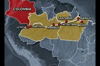 Belém está na rota do tráfico e tem recebido drogas da Colômbia, Peru e Bolívia - Para estudiosos, uma consequência é o aumento da violência no estado.