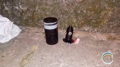 Jovem é preso com artefato para detonar explosivos em São José, SP - Rapaz estava foragido e já era procurado pela polícia.