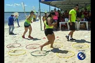"""Projeto """"Minha Praia"""" leva programação para a praia do Caripi em Barcarena - Conheça a praia do Caripi e veja as belezas deste lugar que é uma ótima opção para o final de semana."""