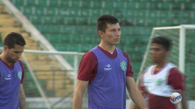 Jogador Braian Samudio, principal atacante do Guarani, é vendido para futebol turco - Samudio deixa o time campineiro depois de sete meses com 26 jogos e sete gols na temporada.