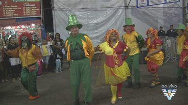 Festão de Mongaguá é atração na região - Evento oferece barracas de comida, artesanato e shows.