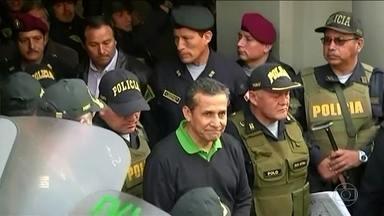 Ex-presidente do Peru e mulher são presos acusados de corrupção envolvendo Odebrecht - Marcelo Odebrecht afirmou ter entregue US$ 3 milhões a Ollanta Humala e Nadine Heredia.