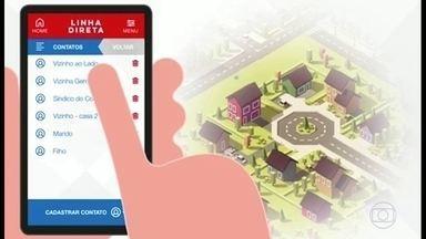 Novo aplicativo permite contato direto com a Polícia Militar - O aplicativo gratuito está sendo lançado nesta terça-feira (18), por enquanto, ele abrange a área da Barra da Tijuca, Recreio e Jardim Oceânico.