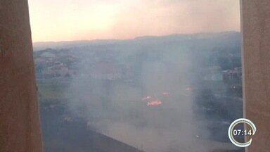 Tempo seco agrava ocorrências de queimadas - Dados do Inpe apontam que o número de queimadas aumentou na região.