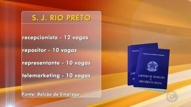 Balcão de empregos de Rio Preto oferece mais de 100 vagas de emprego - Balcão de empregos de Rio Preto oferece mais de 100 vagas de emprego. Confira.