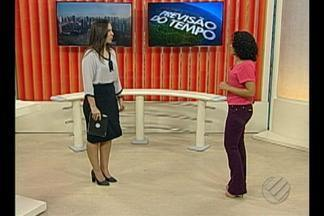 Veja a previsão do tempo para esta terça, 18 - A jornalista Denise Soares traz as informações.