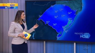Tempo: 10 cidades gaúchas estão com temperaturas negativas nesta quarta-feira (19) - Serafina Corrêa registra -3,2ºC.