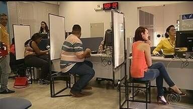 Moradores de 122 cidades têm que fazer o cadastramento biométrico em Goiás - Em muitos municípios, eleitores não estão comparecendo ao cartório eleitoral.