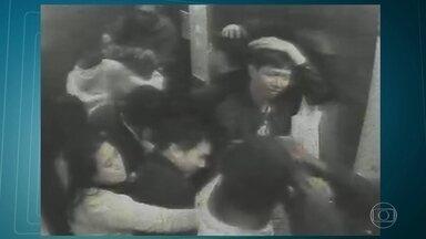 Quadrilha invade prédio em Botafogo, e roubo apartamento de chineses - Vítimas foram agredidas com coronhadas pelos criminosos.
