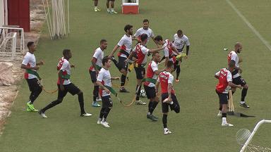 Vitória faz treino fechado antes de partida contra a Chapecoense - Confira as notícias do rubro-negro baiano.