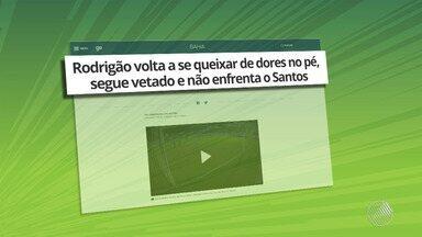 Bahia: Rodrigão volta a se queixar de dores; torcedores falam sobre Renê Júnior e Juninho - Confira as notícias do tricolor baiano.