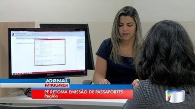 Produção de passaportes é retomada na região - Tem gente apreensiva, com medo de não conseguir receber o documento até a data do embarque.