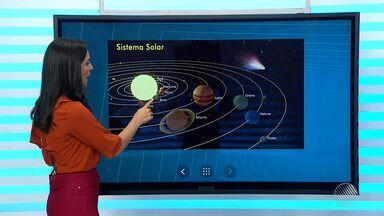 'Ponto' ao lado do sol é o destaque na Previsão do Tempo - Saiba como fica o tempo no estado.