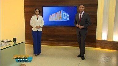 Veja os destaques do Bom Dia Goiás desta sexta-feira (28) - Polícia diz que brinquedo que caiu no Parque Mutirama já apresentava fissura antes do acidente.