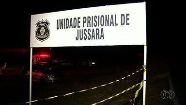 Seap reforça a segurança no Presídio de Jussara após morte de quatro detentos - Dois internos tiveram os corpos queimados e um deles ainda foi decapitado.