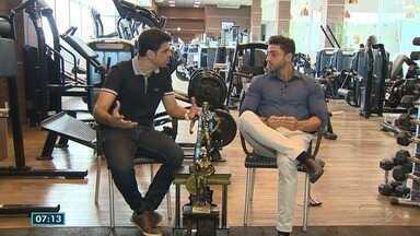 Papo de atleta: Pierre conversa com campeão de fisiculturismo - Jair Lopes é o entrevistado do quadro nesta sexta-feira (28).