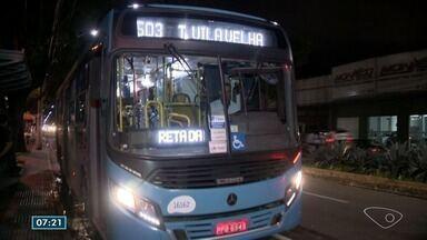 Passageiros reclamam de assaltos nos ônibus da linha 503 do Sistema Transcol, no ES - Linha liga o Terminal de Laranjeiras ao Terminal de Vila Velha, na Grande Vitória.