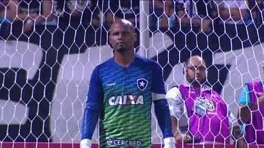 Jefferson vai ser poupado contra o São Paulo pelo Brasileirão - Goleiro tem edeman na coxa e dá lugar a Gatito Fernandéz.
